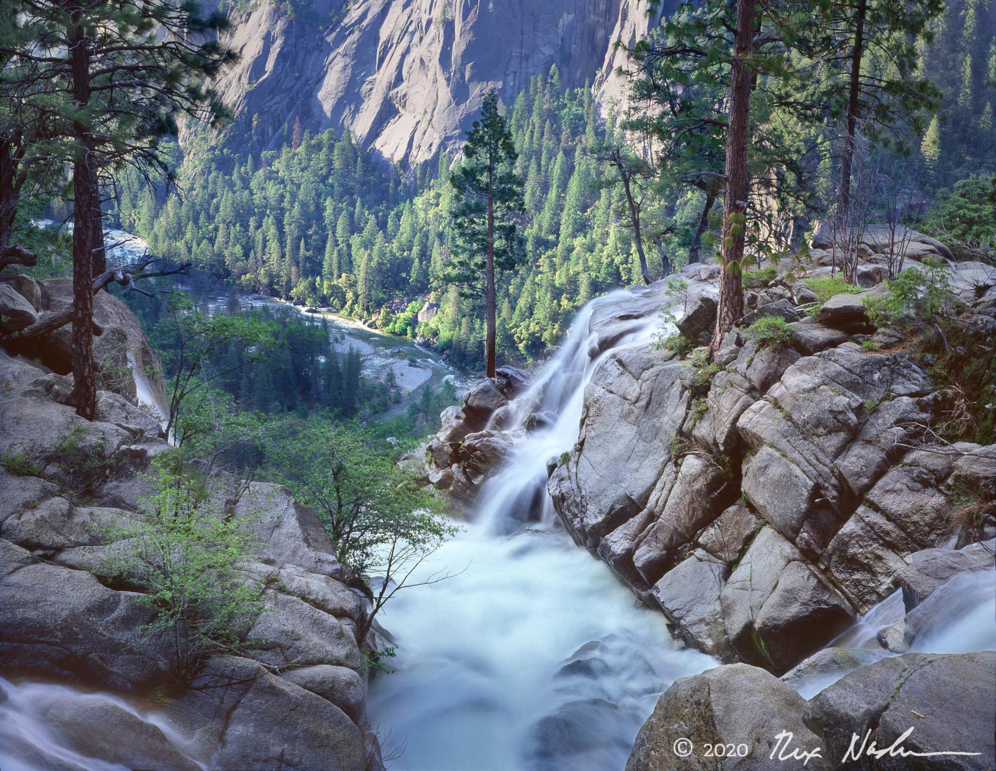 Cascade and Tamarack Creek - Cascade and Tamarack Creek, Yosemite
