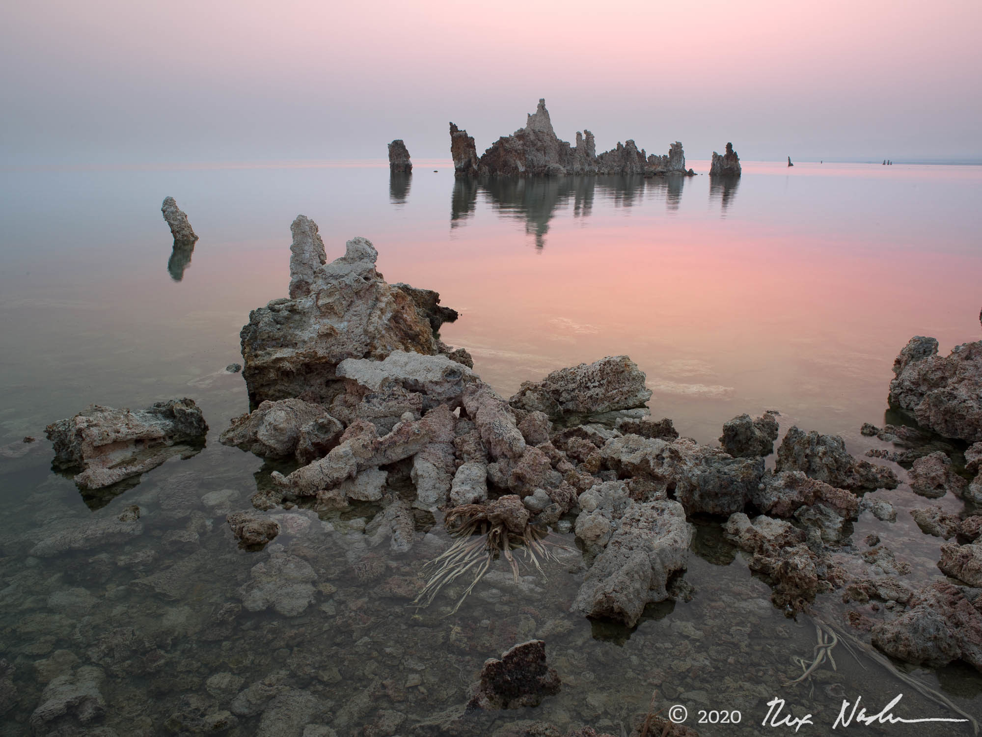 Dawn Horizon - Mono Lake, CA