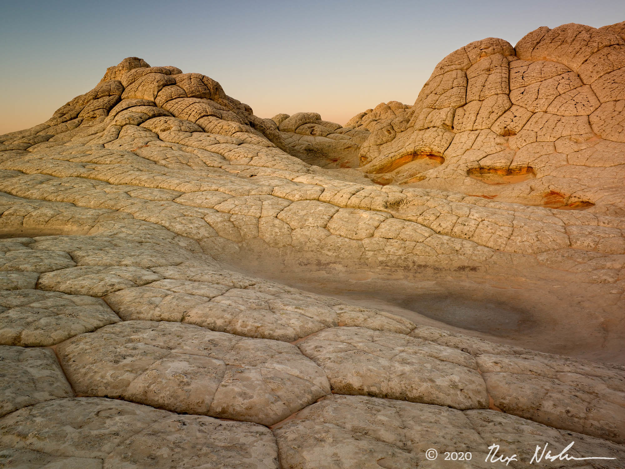 Moonscape - Sandstone Patterns, Paria Wilderness