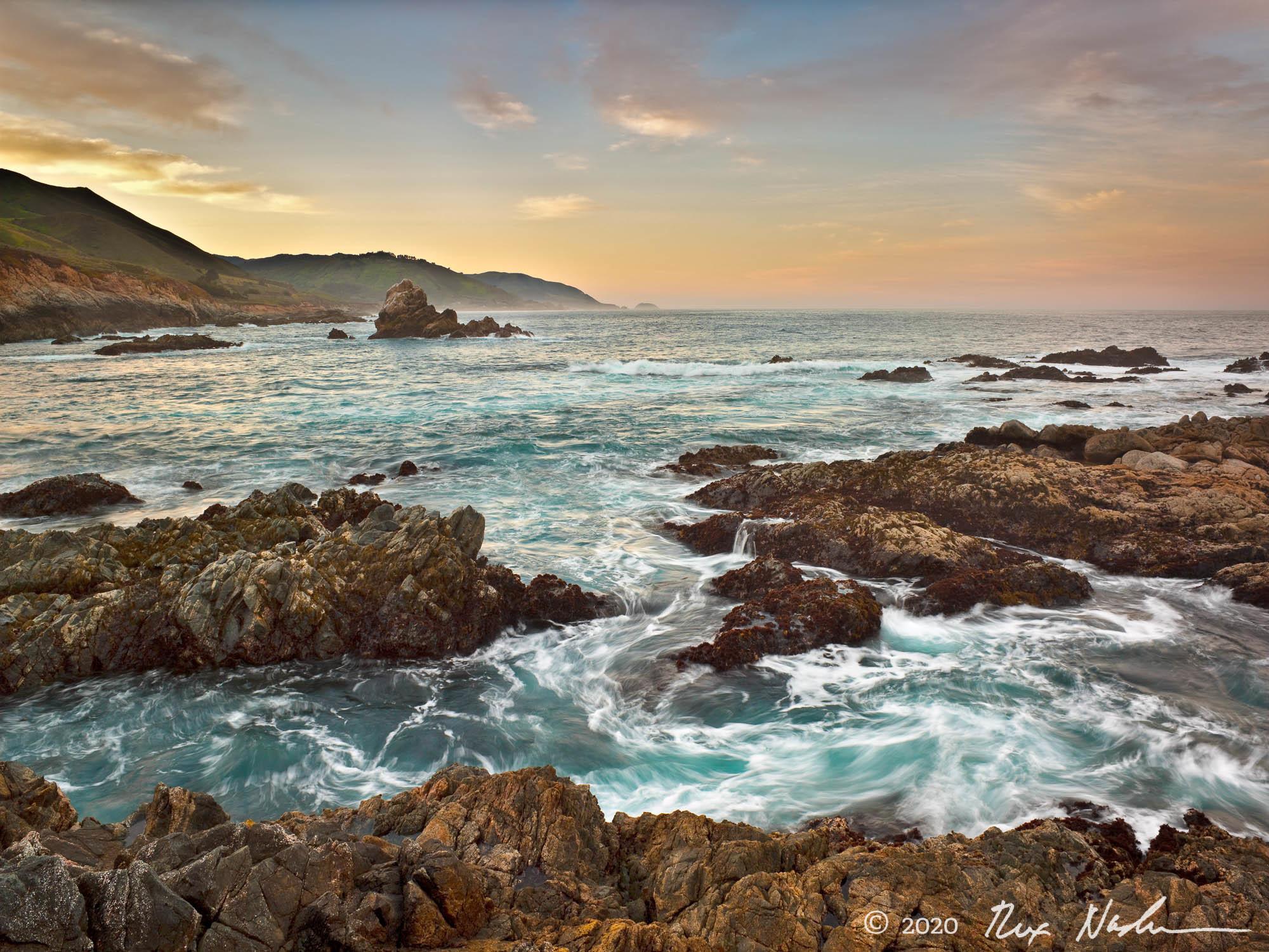 Swirling Color - Big Sur