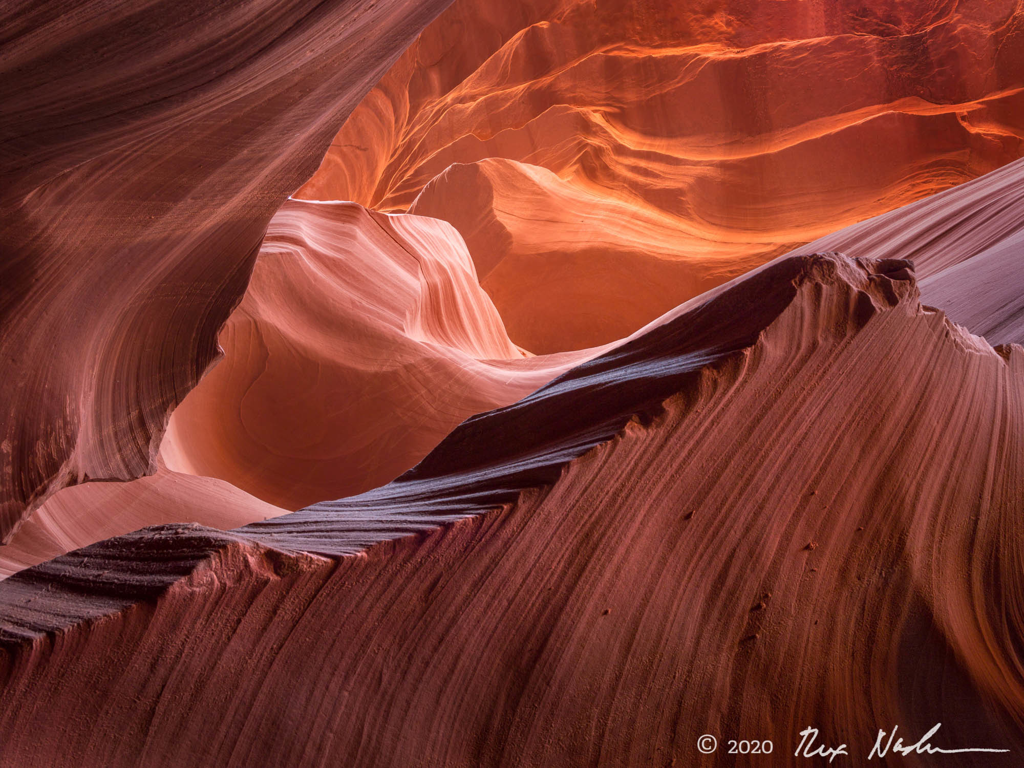 Vertigo II - Sandstone, Antelope Canyon