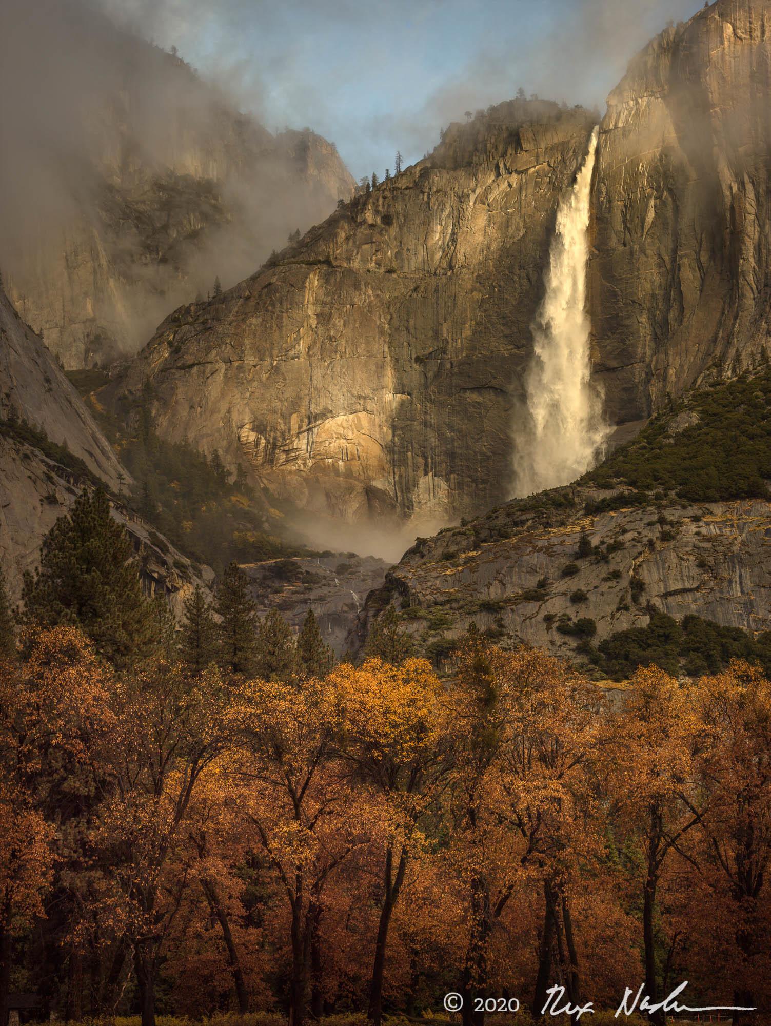 Glowing Wall - Yosemite NP