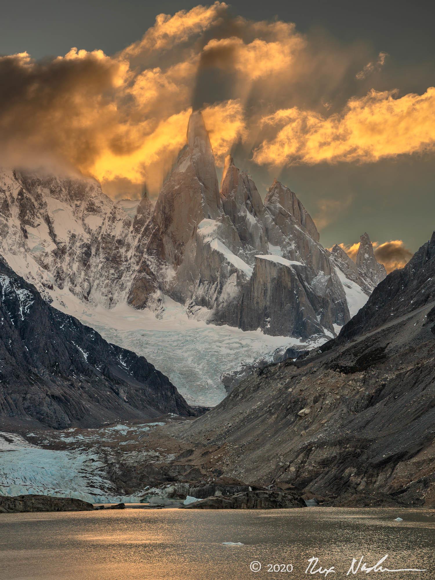 Projection - Near El Chalten, Argentina