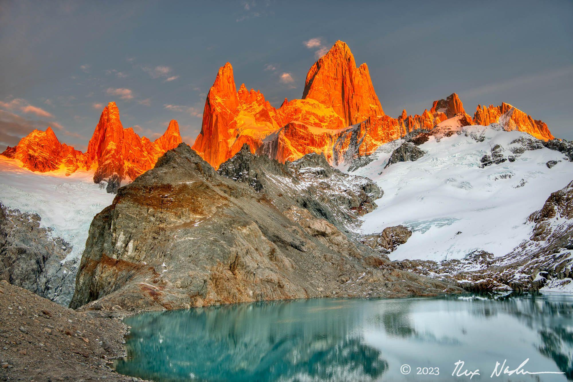 Monolith - Near El Chalten, Argentina