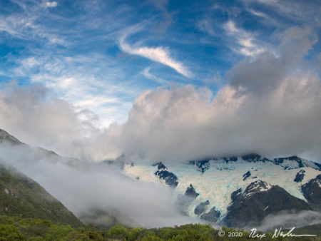 Clouds and Sky, Mt. Cook